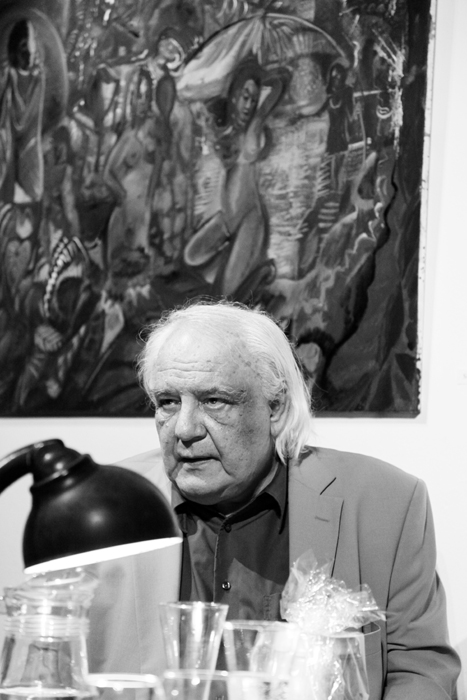 Vladimir Bukovsky At Vaclav Havel Library. Prague. 2013. Photo by © Petr Horcicka